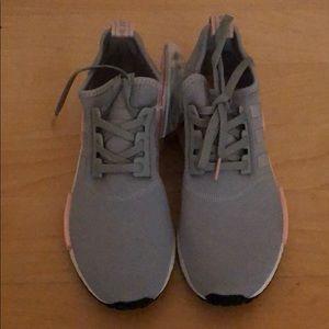 Adidas NMD_R1 (Women's) Grey/Pink. NWT